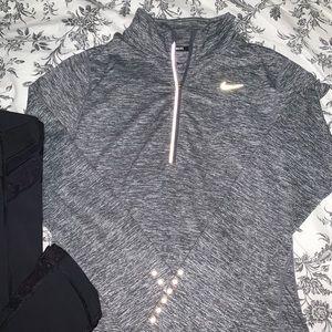 Nike 1/4 zip running sweater